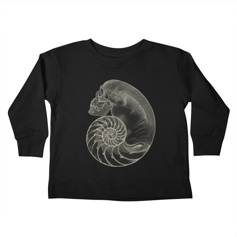 Sea'sHell Kids Toddler Longsleeve T-Shirt by eyejacker's shop