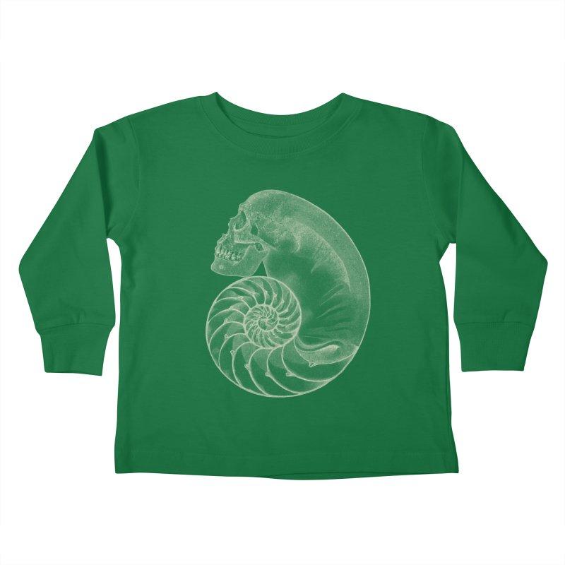 Sea'sHell Kids Toddler Longsleeve T-Shirt by eyejacker's shop