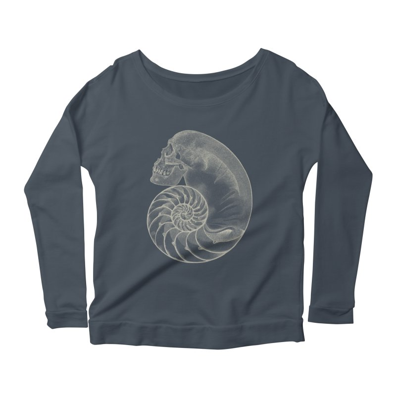 Sea'sHell Women's Scoop Neck Longsleeve T-Shirt by eyejacker's shop