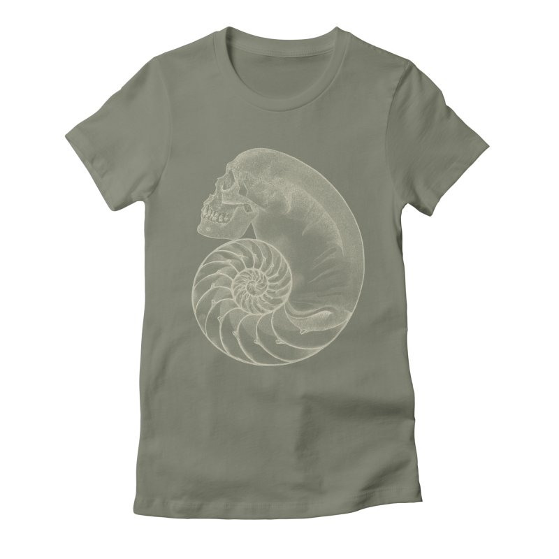 Sea'sHell Women's Fitted T-Shirt by eyejacker's shop