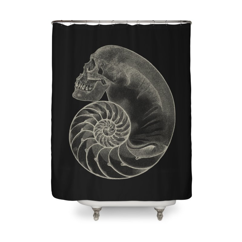 Sea'sHell Home Shower Curtain by eyejacker's shop
