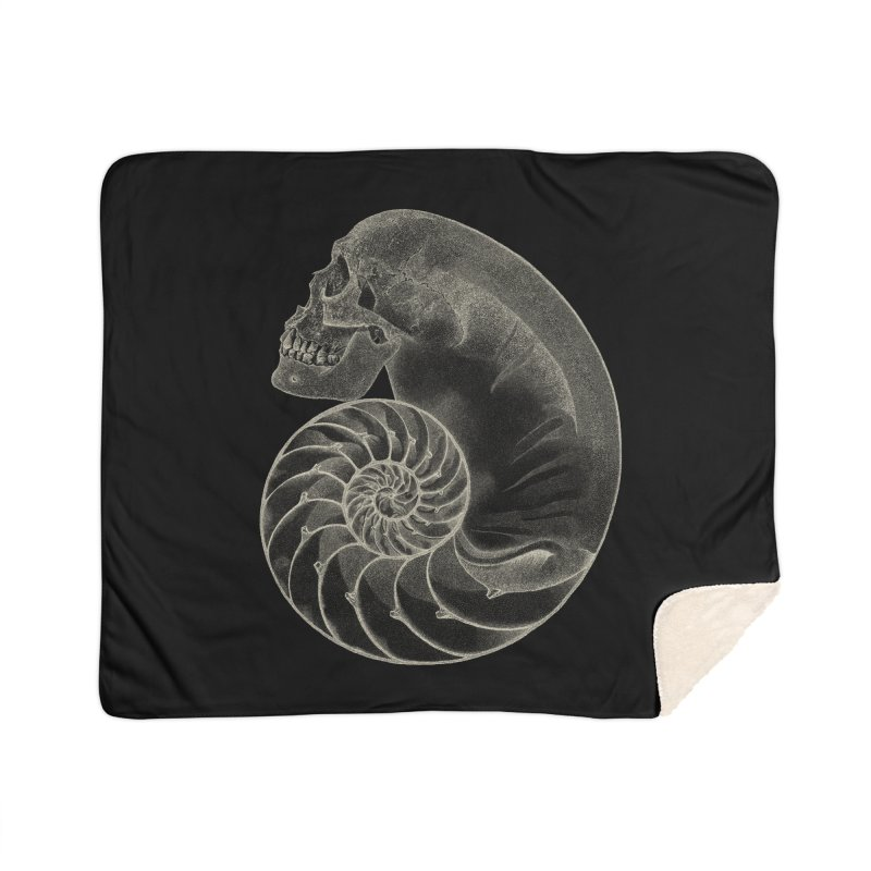 Sea'sHell Home Sherpa Blanket Blanket by eyejacker's shop