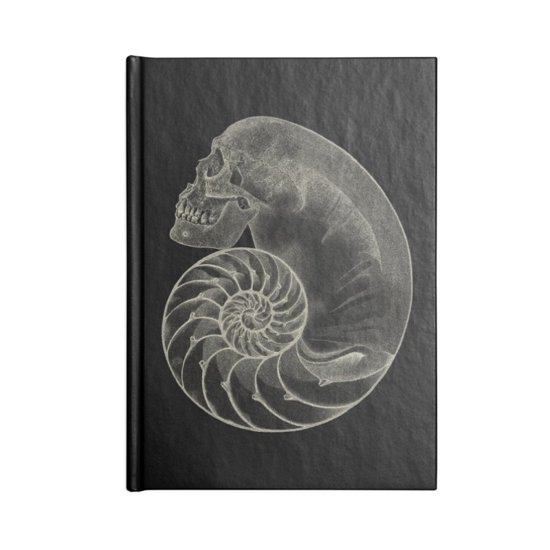 Sea'sHell Accessories Lined Journal Notebook by eyejacker's shop