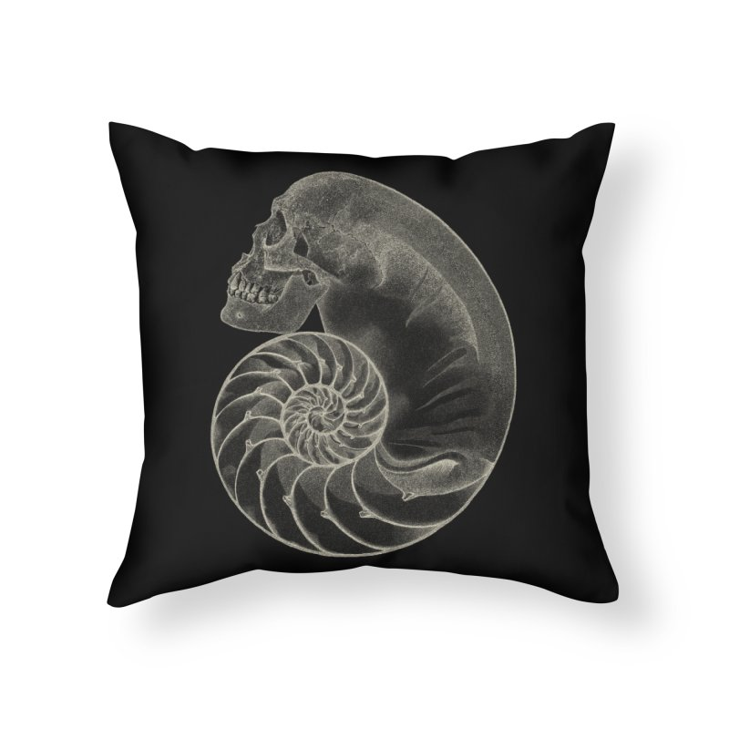 Sea'sHell Home Throw Pillow by eyejacker's shop