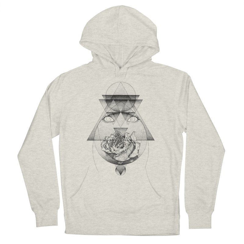 Lupine Rosaceae Women's French Terry Pullover Hoody by eyejacker's shop