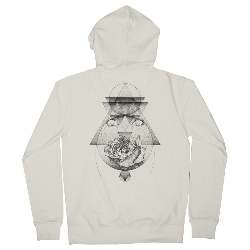 Lupine Rosaceae Men's Zip-Up Hoody by eyejacker's shop