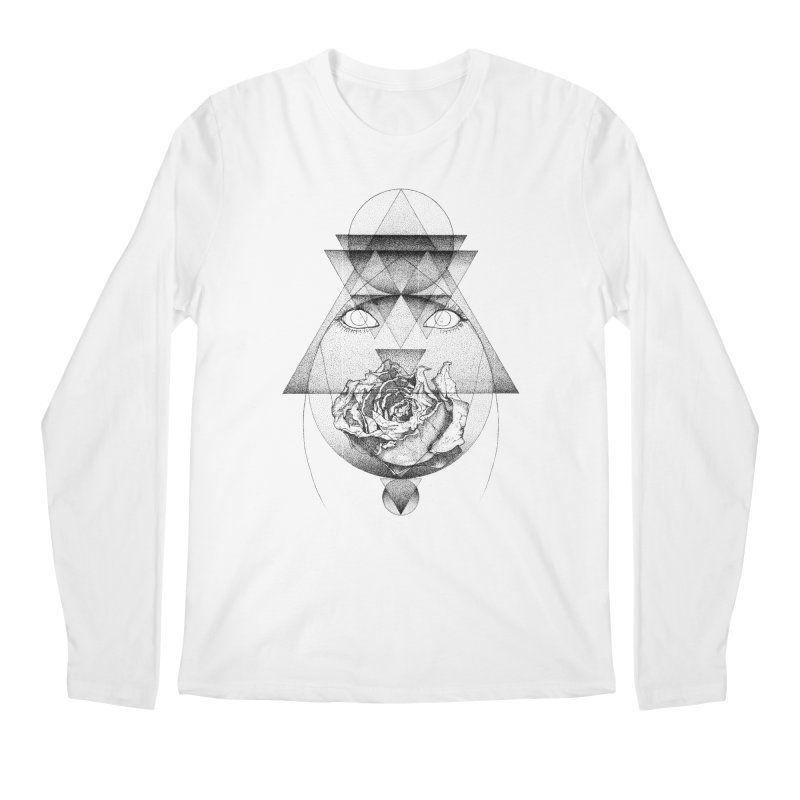 Lupine Rosaceae Men's Regular Longsleeve T-Shirt by eyejacker's shop