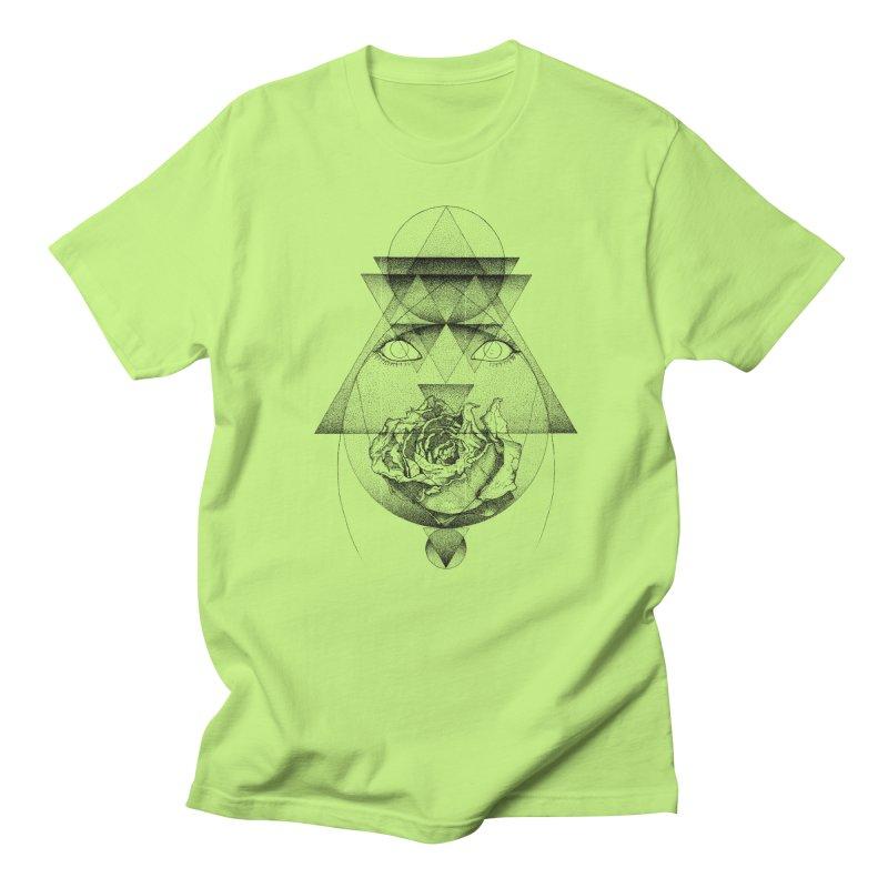 Lupine Rosaceae Men's Regular T-Shirt by eyejacker's shop