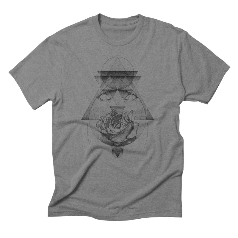Lupine Rosaceae Men's Triblend T-shirt by eyejacker's shop