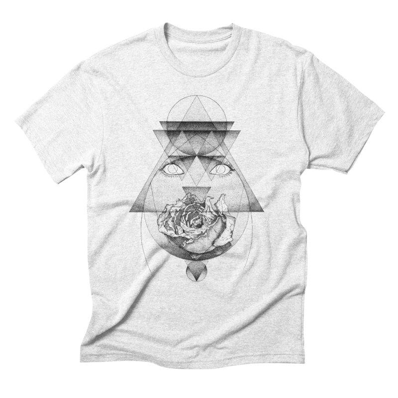 Lupine Rosaceae Men's Triblend T-shirt by eyejacker's shop
