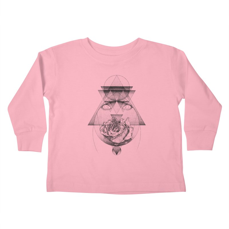 Lupine Rosaceae Kids Toddler Longsleeve T-Shirt by eyejacker's shop