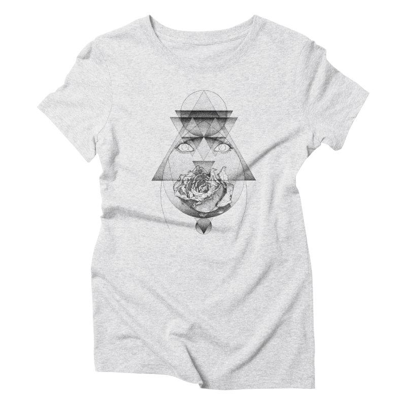 Lupine Rosaceae Women's Triblend T-Shirt by eyejacker's shop