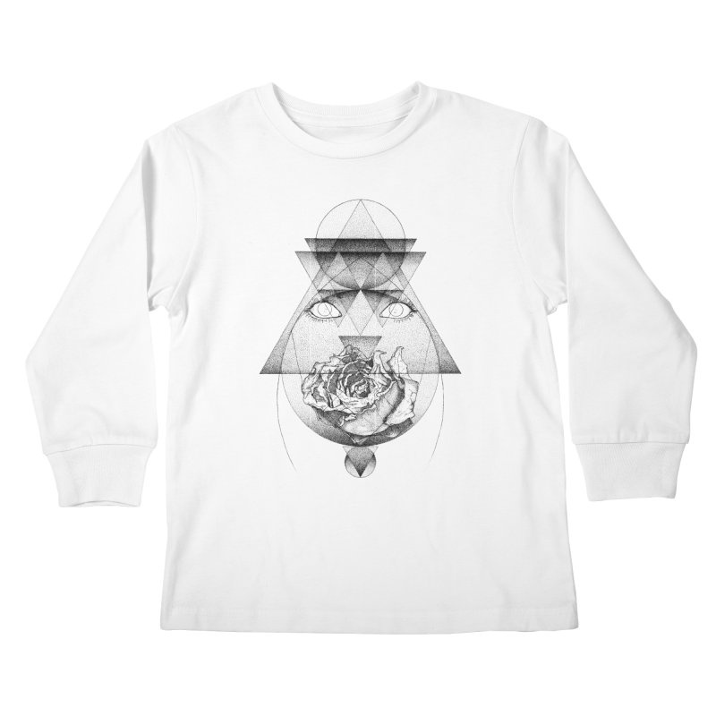 Lupine Rosaceae Kids Longsleeve T-Shirt by eyejacker's shop