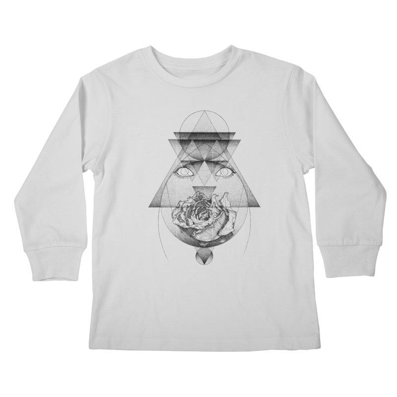 Lupine Rosaceae Kids Longsleeve T-Shirt by eyejacker's shop