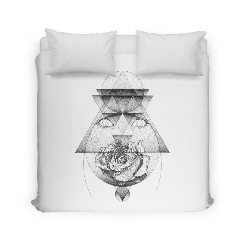 Lupine Rosaceae Home Duvet by eyejacker's shop