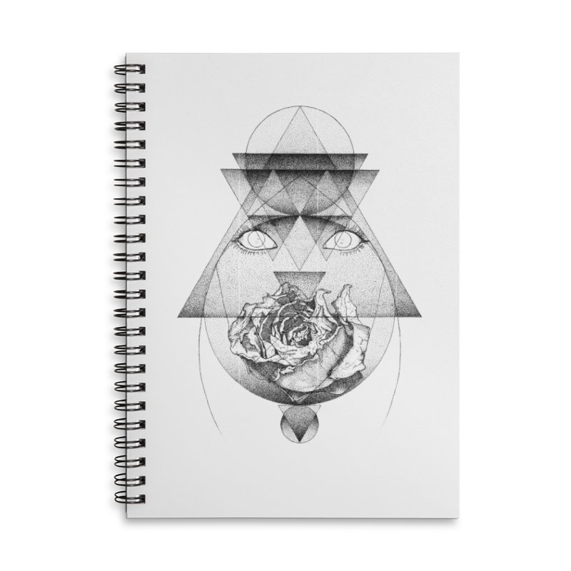 Lupine Rosaceae Accessories Lined Spiral Notebook by eyejacker's shop