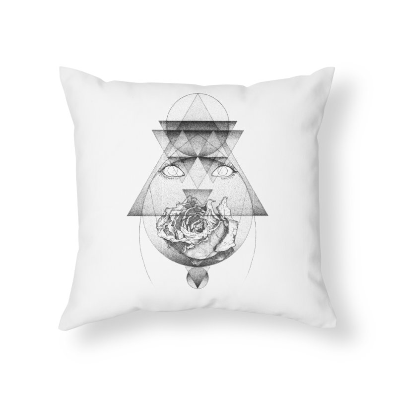 Lupine Rosaceae Home Throw Pillow by eyejacker's shop
