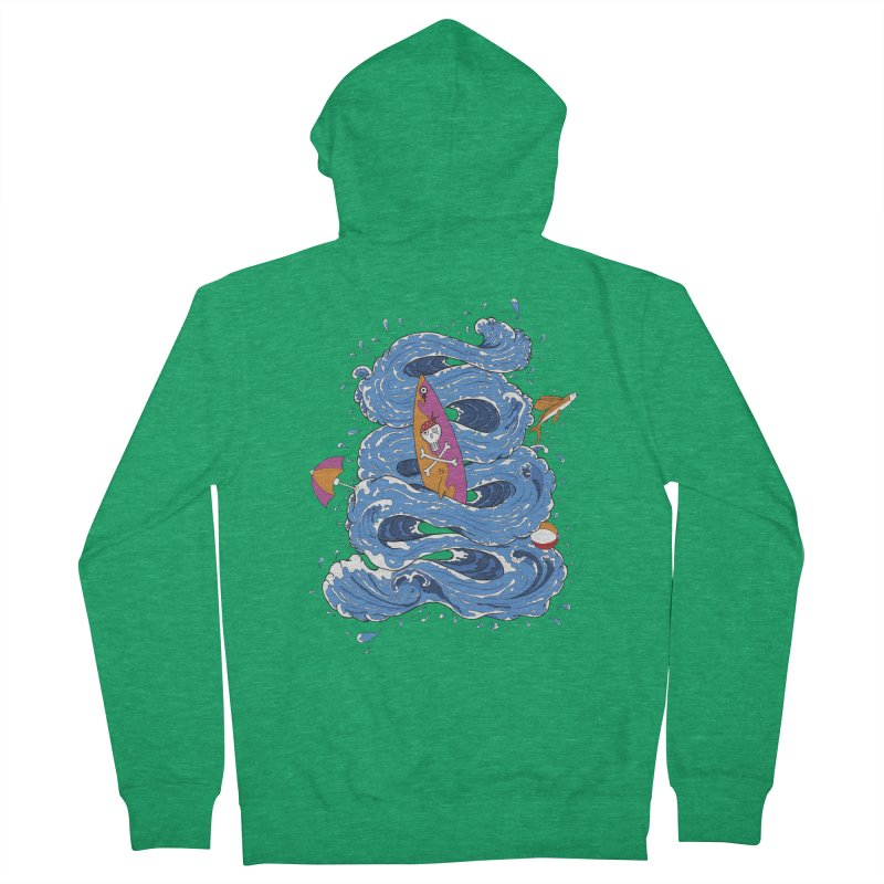Wipeout Men's French Terry Zip-Up Hoody by eyejacker's shop