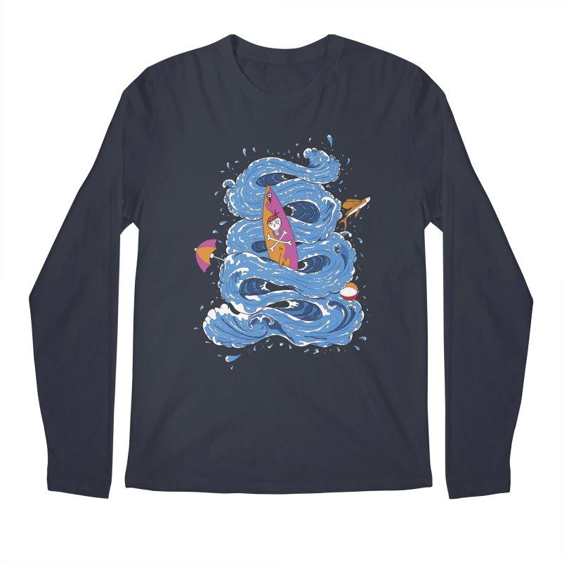 Wipeout Men's Regular Longsleeve T-Shirt by eyejacker's shop