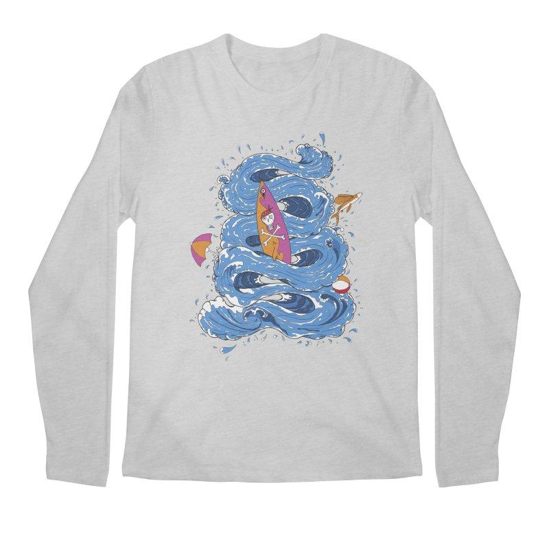 Wipeout Men's Longsleeve T-Shirt by eyejacker's shop