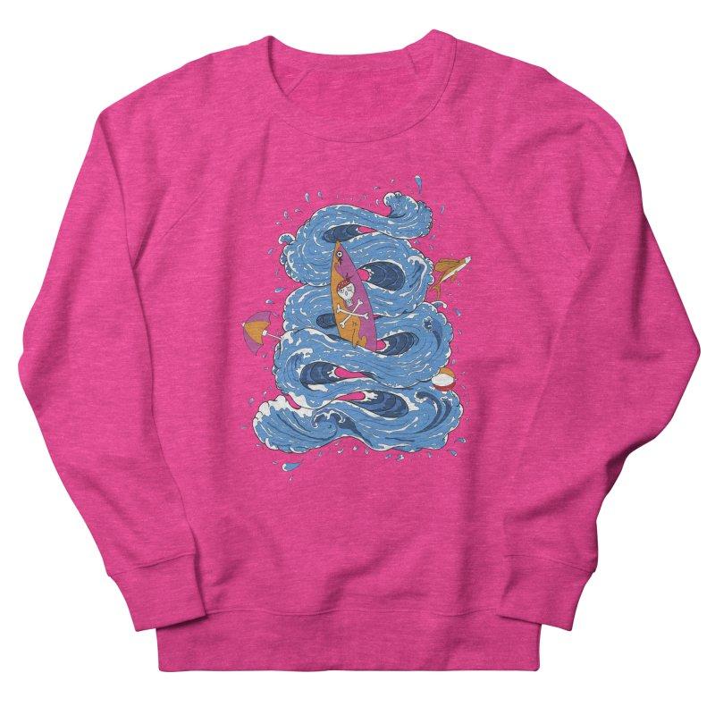 Wipeout Women's French Terry Sweatshirt by eyejacker's shop