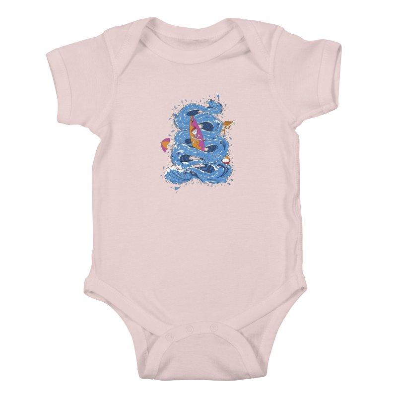 Wipeout Kids Baby Bodysuit by eyejacker's shop