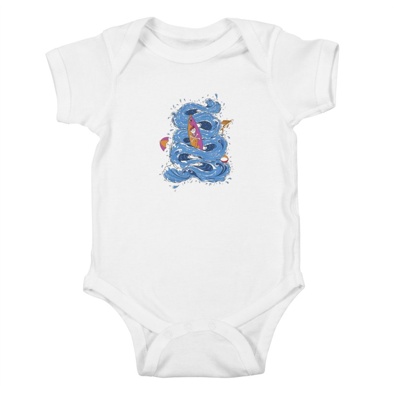 Wipeout Kids Baby Bodysuit by eyejacker's shop