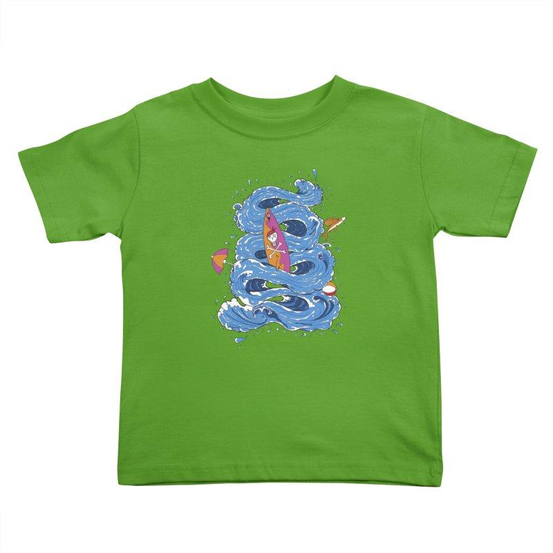 Wipeout Kids Toddler T-Shirt by eyejacker's shop