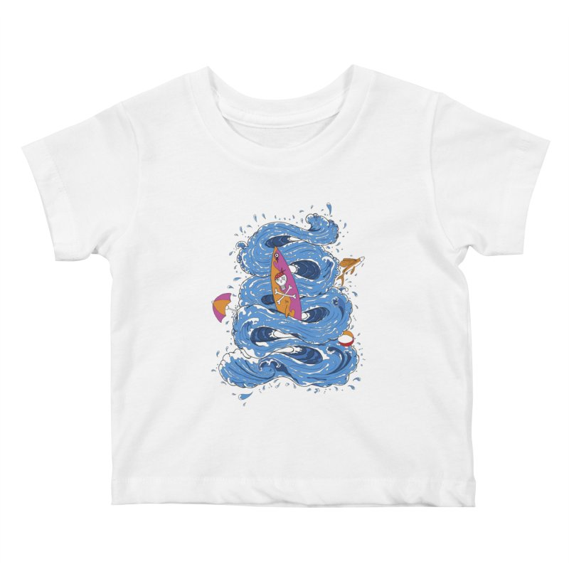 Wipeout Kids Baby T-Shirt by eyejacker's shop