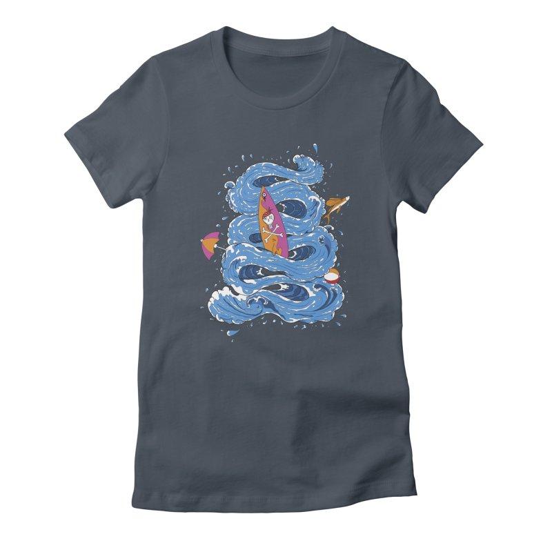 Wipeout Women's T-Shirt by eyejacker's shop