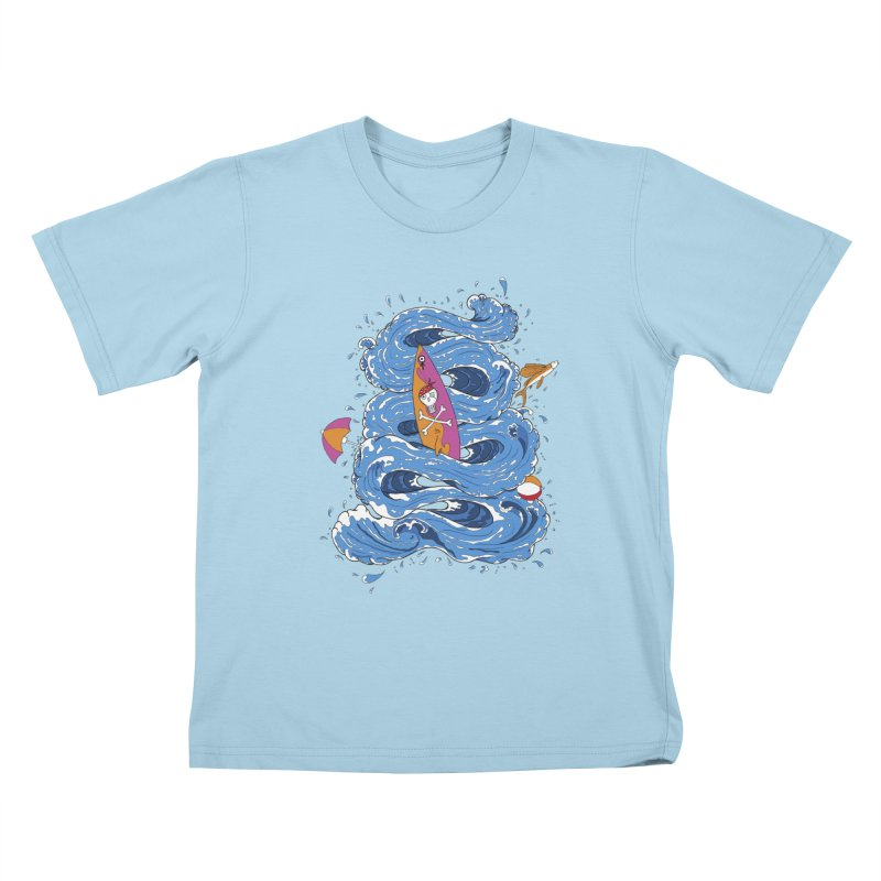 Wipeout Kids T-Shirt by eyejacker's shop