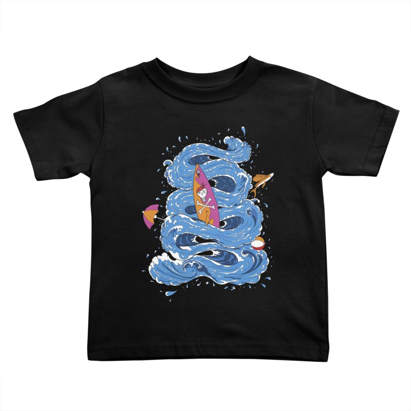 Wipeout Kids Toddler T-Shirt by eyejacker's shop