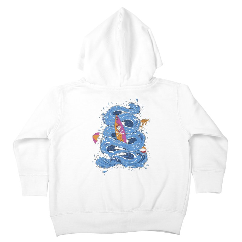 Wipeout Kids Toddler Zip-Up Hoody by eyejacker's shop