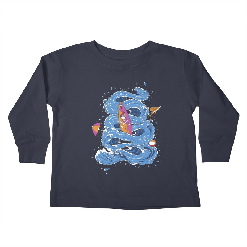 Wipeout Kids Toddler Longsleeve T-Shirt by eyejacker's shop