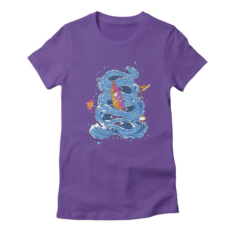 Wipeout Women's Fitted T-Shirt by eyejacker's shop