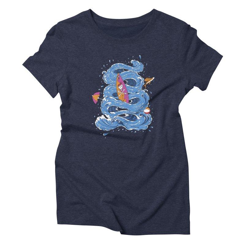 Wipeout Women's Triblend T-Shirt by eyejacker's shop