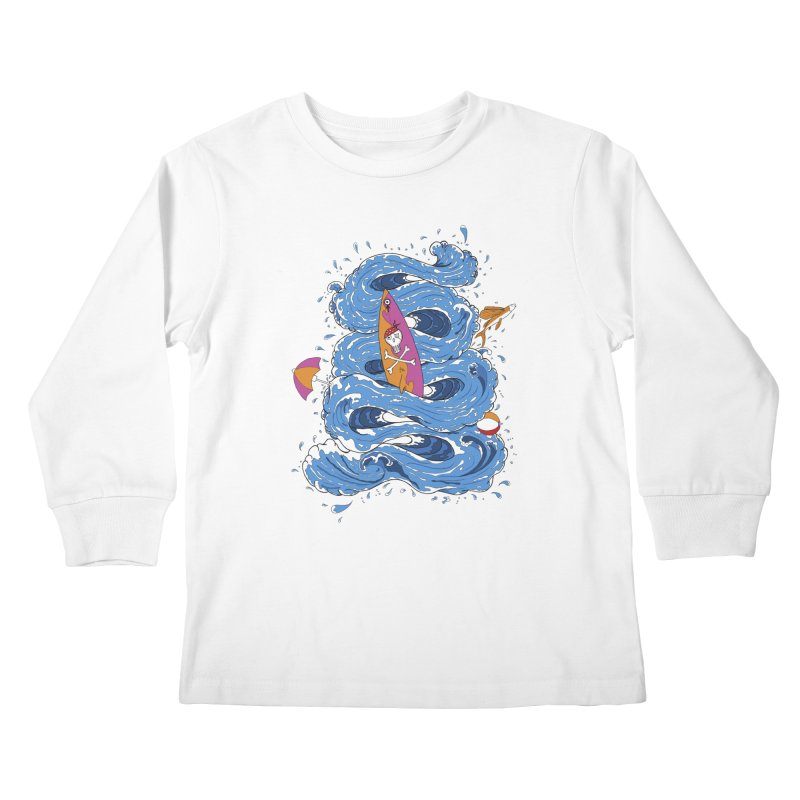 Wipeout Kids Longsleeve T-Shirt by eyejacker's shop
