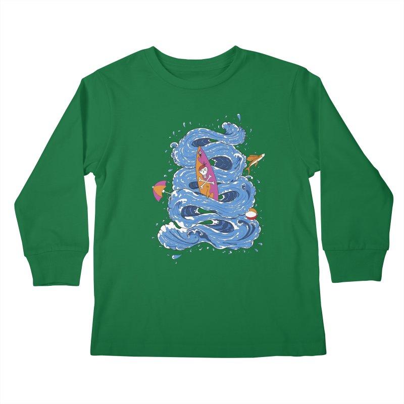 Wipeout Kids Longsleeve T-Shirt by eyejacker's shop