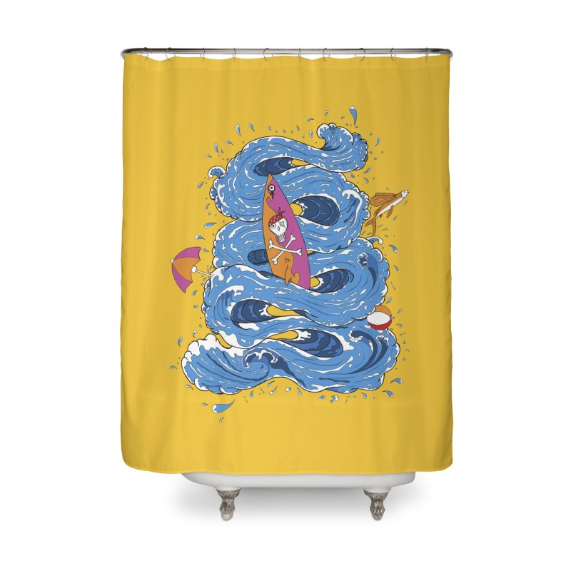 Wipeout Home Shower Curtain by eyejacker's shop