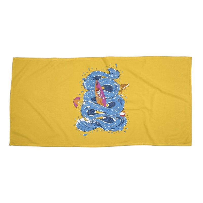 Wipeout Accessories Beach Towel by eyejacker's shop