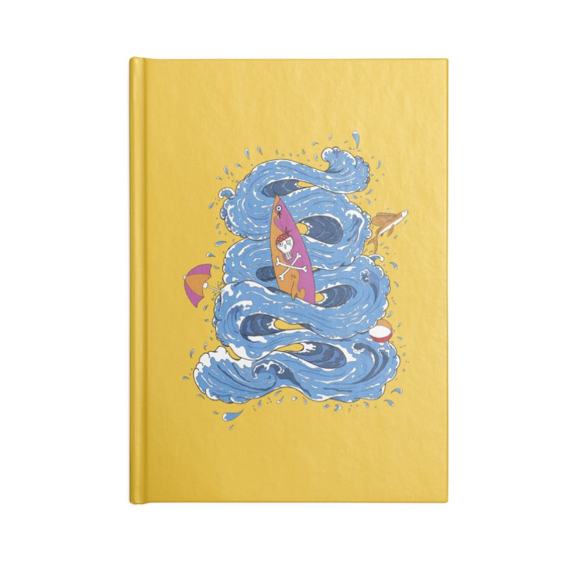 Wipeout Accessories Lined Journal Notebook by eyejacker's shop