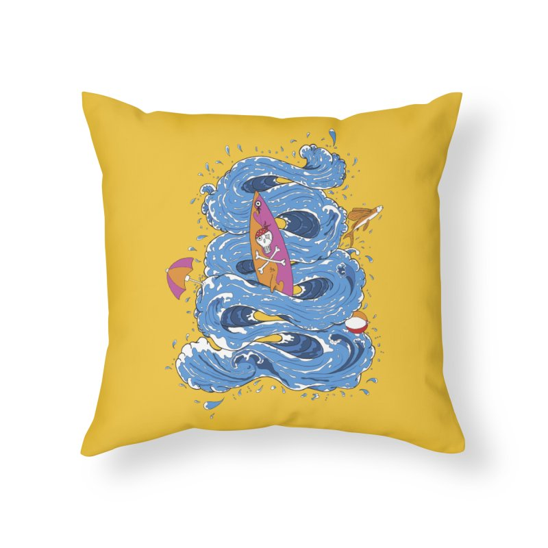 Wipeout Home Throw Pillow by eyejacker's shop