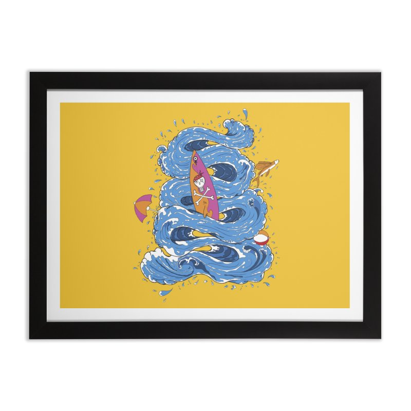 Wipeout Home Framed Fine Art Print by eyejacker's shop