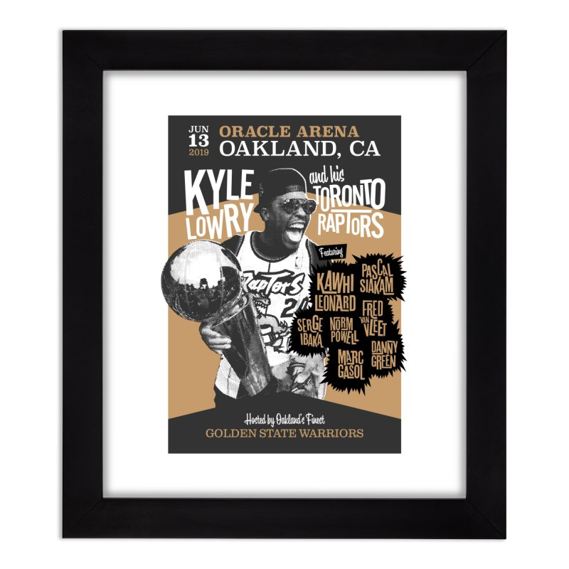 06/13/2019 Game 6 (Update) Home Framed Fine Art Print by EYEJAMMY from the 905