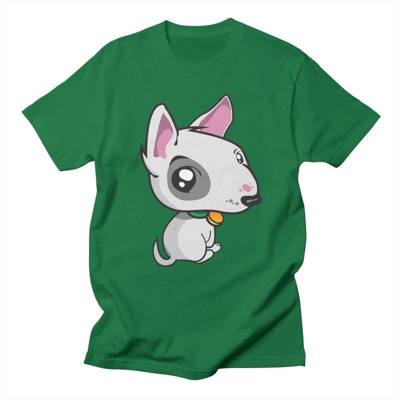 Puppy Men's T-Shirt by Eye Opening Design