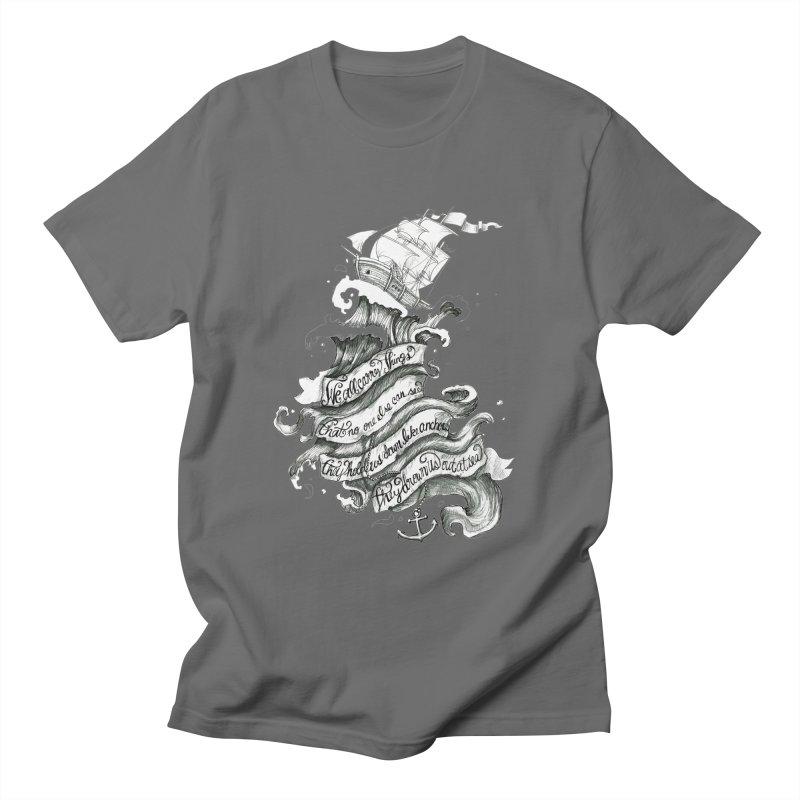 Chelsea Smile Men's T-Shirt by Becca Douglas Art