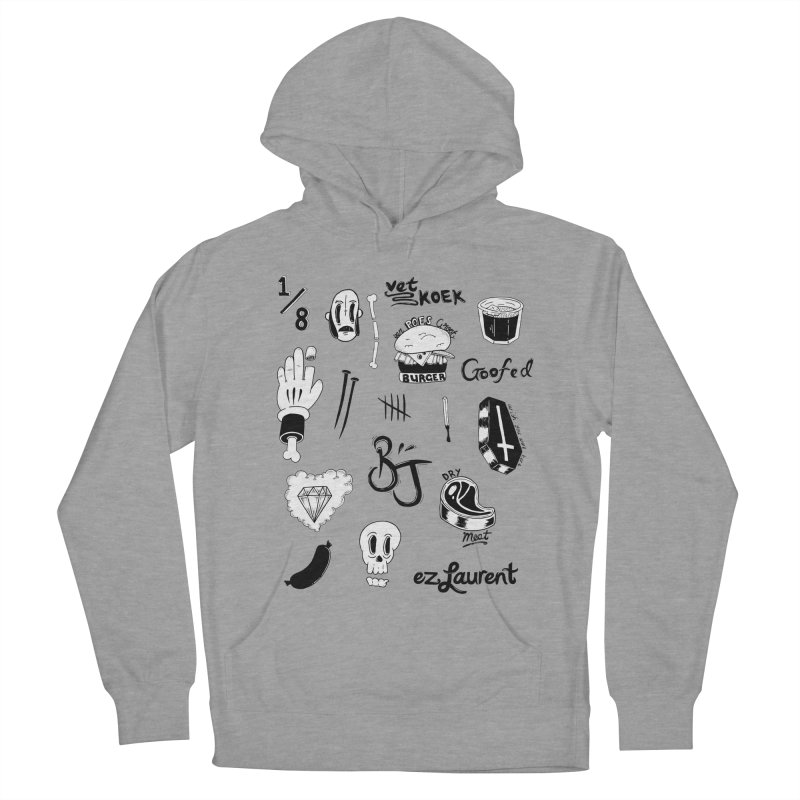 Flash Women's French Terry Pullover Hoody by ezlaurent's Artist Shop