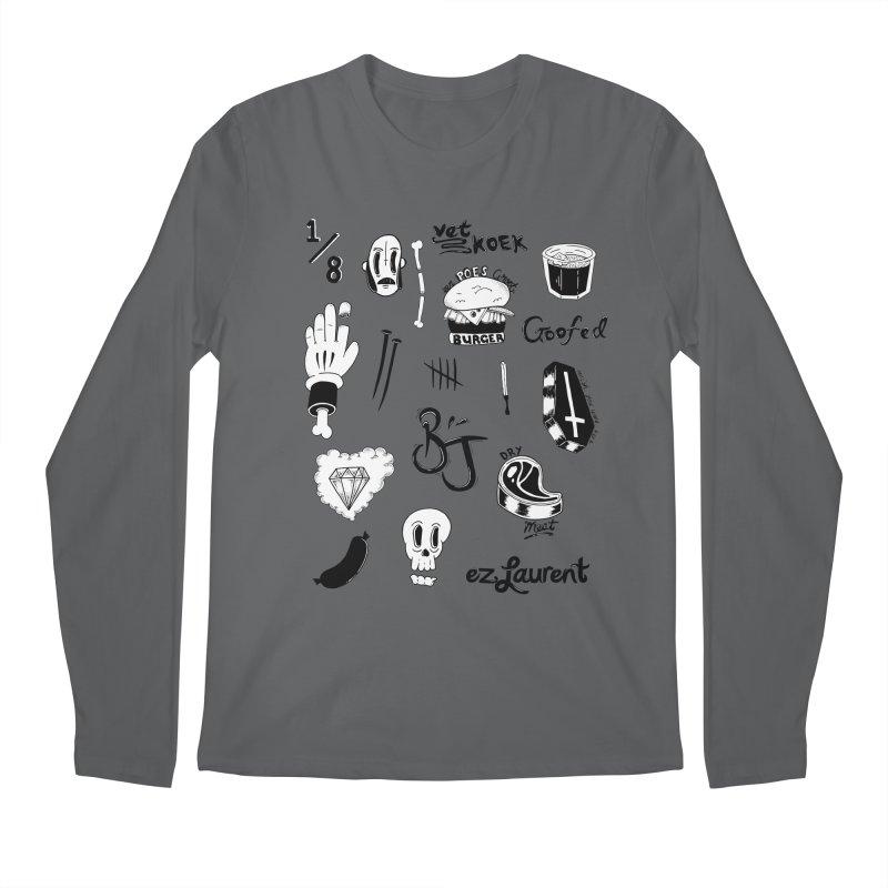 Flash Men's Longsleeve T-Shirt by ezlaurent's Artist Shop
