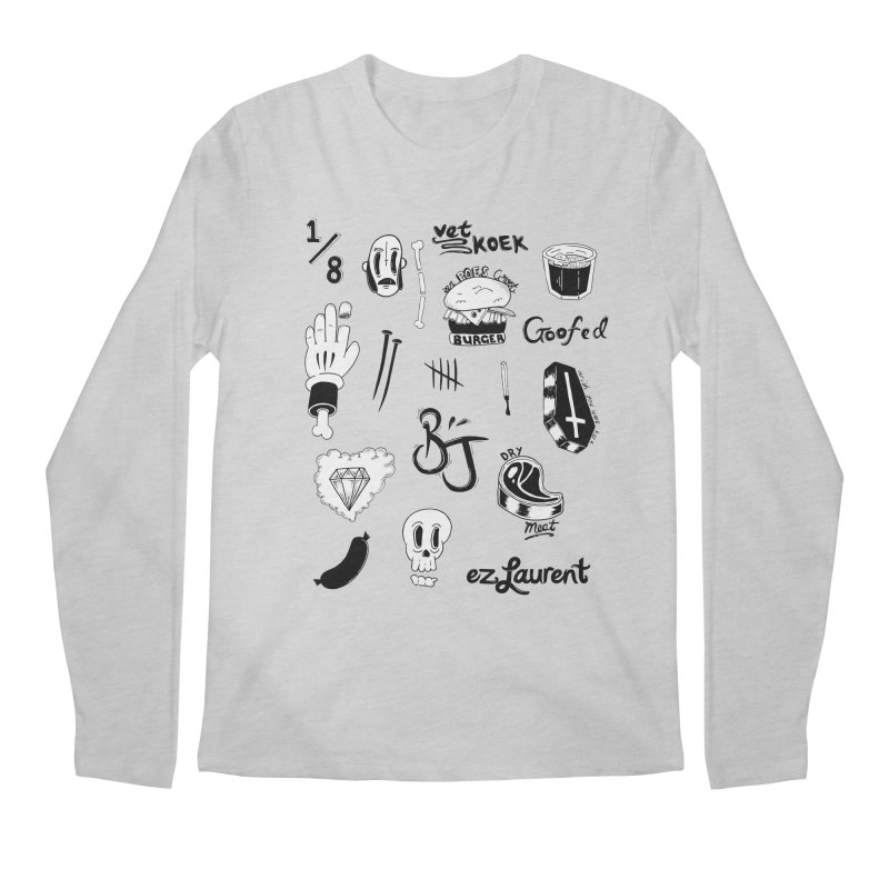 Flash Men's Regular Longsleeve T-Shirt by ezlaurent's Artist Shop