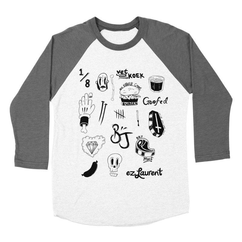 Flash Women's Baseball Triblend T-Shirt by ezlaurent's Artist Shop